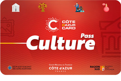 Découvrez la CÔTE D'AZUR CARD