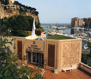MUSEUM OF STAMPS AND COINS IN MONACO